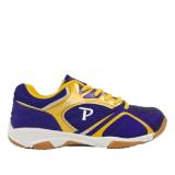 Giày cầu lông nam Promax PR19018 màu tím viền vàng