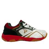 Giày cầu lông nam Promax 19018 màu trắng viền đỏ