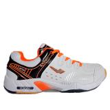 Giày cầu lông XPD-855 chuyên nghiệp (màu trắng dây cam)