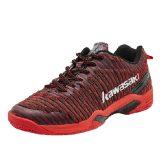 Giày cầu lông, giày bóng chuyền nam nữ Kawasaki K525 mẫu mới, chống lật cổ chân, giảm chấn hiệu quả, hàng có sẵn,đủ size,màu đen đỏ
