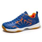 Giày cầu lông nam nữ BENDU B2102 mẫu mới màu xanh